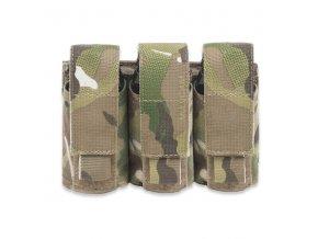 Sumka na tři granáty nebo dýmovnice WARRIOR ASSAULT SYSTEMS Triple 40mm Grenade - MultiCam