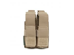 Sumka na zásobníky Warrior Assault Systems Direct Action Double DA 9mm Pistol Pouch - Coyote Tan