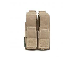 Sumka na zásobníky Warrior Assault Systems Direct Action Double DA 9mm Pistol Pouch - Coyote Tan