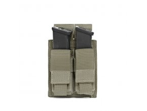 Sumka na zásobníky Warrior Assault Systems Direct Action Double DA 9mm Pistol Pouch - Ranger Green
