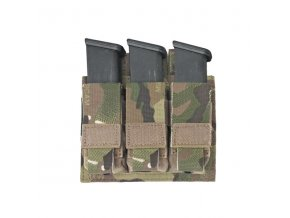 Sumka na zásobníky Warrior Assault Systems Direct Action Triple DA 9mm Pistol Pouch - MultiCam
