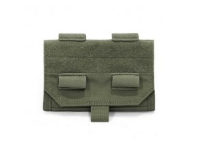Admin sumka WARRIOR ASSAULT SYSTEMS Forward Opening Admin Pouch - Olive Drab
