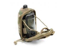 MOLLE pouzdro na navigaci WARRIOR ASSAULT SYSTEMS Garmin GPS Pouch - MultiCam