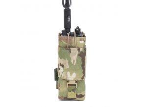 MOLLE pouzdro na vysílačku WARRIOR ASSAULT SYSTEMS MBITR Radio Gen 1 - MultiCam