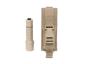 MOLLE pouzdro WARRIOR ASSAULT SYSTEMS Small Torch Pouch - Coyote Tan
