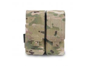 Dvojitá sumka na 4 zásobníky Warrior Assault Systems Double M4 5.56mm - MultiCam