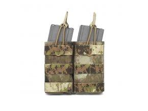 Otevřená sumka na dva zásobníky Warrior Assault Systems Double MOLLE Open Pouch 5.56mm - A-TACS AU