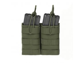 Otevřená sumka na dva zásobníky Warrior Assault Systems Double MOLLE Open Pouch 5.56mm - Olive Drab