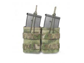 Otevřená sumka na dva zásobníky Warrior Assault Systems Double MOLLE Open G36 - A-TACS FG