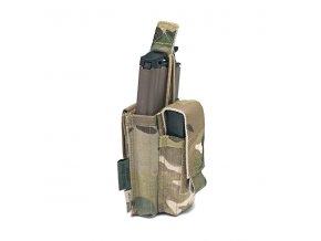 Otevřená sumka na zásobník k útočné pušce a pistoli WARRIOR ASSAULT SYSTEMS Single Open 5.56mm & 9mm - MultiCam