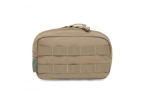 Univerzální sumka WARRIOR ASSAULT SYSTEMS Medium Horizontal MOLLE Pouch - Coyote Tan