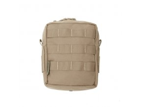 Univerzální sumka WARRIOR ASSAULT SYSTEMS Medium MOLLE Utility Pouch - Coyote Tan