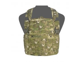 Hrudní nosič WARRIOR ASSAULT SYSTEMS 901 Elite Ops Base Chest Rig - A-TACS FG