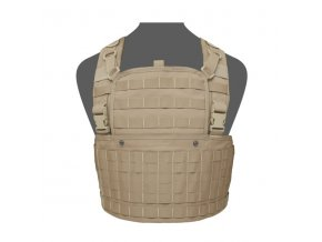 Hrudní nosič WARRIOR ASSAULT SYSTEMS 901 Elite Ops Base Chest Rig - Coyote Tan