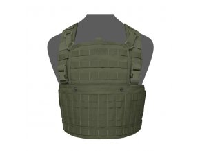 Hrudní nosič WARRIOR ASSAULT SYSTEMS 901 Elite Ops Base Chest Rig - Olive Drab