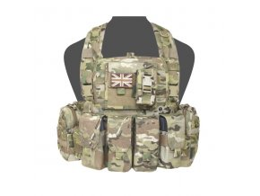 Hrudní nosič WARRIOR ASSAULT SYSTEMS 901 Elite Ops M4 Bravo Chest Rig  - MultiCam