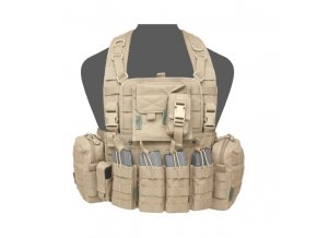 Hrudní nosič WARRIOR ASSAULT SYSTEMS 901 Elite 4 - Coyote Tan