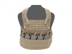 Hrudní nosič WARRIOR ASSAULT SYSTEMS Centurion Chest Rig  - Coyote Tan