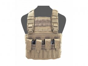 Hrudní nosič WARRIOR ASSAULT SYSTEMS Gladiator Chest Rig - Coyote Tan