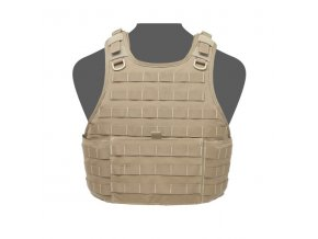 Nosič plátů WARRIOR ASSAULT SYSTEMS Ricas Compact Base Plate Carrier - Coyote Tan
