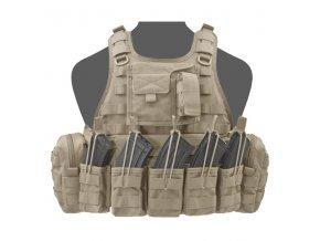 Nosič plátů WARRIOR ASSAULT SYSTEMS Ricas Compact AK Plate Carrier - Coyote Tan