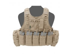 Nosič plátů WARRIOR ASSAULT SYSTEMS Ricas Compact DA 5.56mm Plate Carrier - Coyote Tan