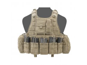 Nosič plátů WARRIOR ASSAULT SYSTEMS Ricas Compact G36 Plate Carrier - Coyote Tan