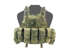 Nosič plátů WARRIOR ASSAULT SYSTEMS Ricas Compact M4 Plate Carrier - A-TACS™ FG