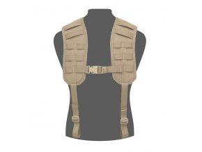 Tracky WARRIOR ASSAULT SYSTEMS Elite Ops MOLLE Harness - Coyote Tan