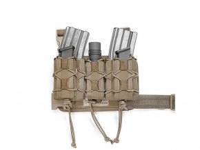 Taktické stehenní pouzdro WARRIOR ASSAULT SYSTEMS Sabre Leg Rig MK1 - Coyote Tan