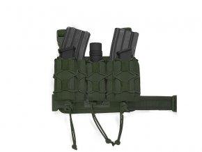 Taktické stehenní pouzdro WARRIOR ASSAULT SYSTEMS Sabre Leg Rig MK1 - Olive Drab