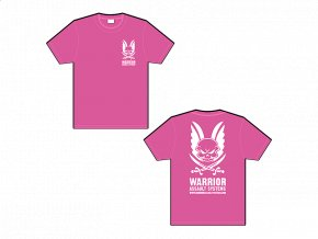 Dámské triko WARRIOR ASSAULT SYSTEMS T-shirt - Hot Pink