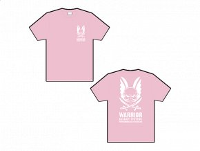 Dámské triko WARRIOR ASSAULT SYSTEMS T-shirt - Pale Pink