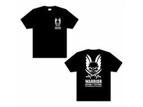 Triko WARRIOR ASSAULT SYSTEMS T-shirt - Black