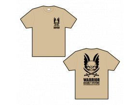 Triko WARRIOR ASSAULT SYSTEMS T-shirt - Tan
