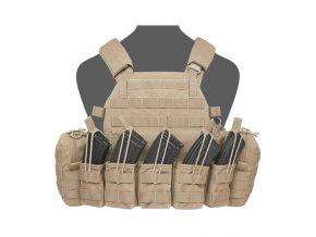 Nosič plátů WARRIOR ASSAULT SYSTEMS - DCS AK 7.62mm Plate Carrier - Coyote Tan