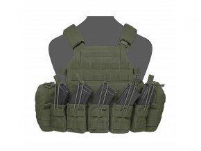 Nosič plátů WARRIOR ASSAULT SYSTEMS - DCS AK 7.62mm Plate Carrier - Olive Drab