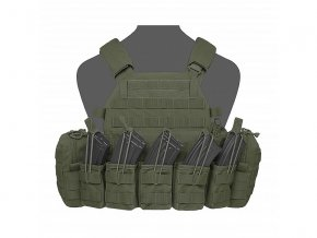 Nosič plátů WARRIOR ASSAULT SYSTEMS - DCS AK 7.62mm Plate Carrier - Olive Drab