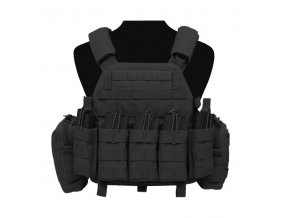 Nosič plátů WARRIOR ASSAULT SYSTEMS - DCS DA 5.56mm Plate Carrier - Black