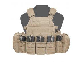 Nosič plátů WARRIOR ASSAULT SYSTEMS - DCS G36 Plate Carrier - Coyote Tan