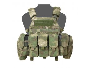Nosič plátů WARRIOR ASSAULT SYSTEMS - DCS M4 Plate Carrier - A-TACS FG
