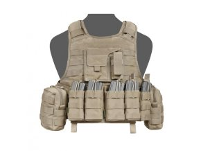 Nosič plátů WARRIOR ASSAULT SYSTEMS Raptor Releasable DA 5.56mm - Coyote Tan