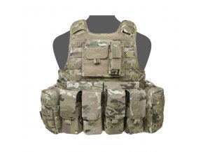 Nosič plátů WARRIOR ASSAULT SYSTEMS Raptor M4 - MultiCam®