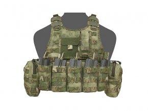 Nosič plátů WARRIOR ASSAULT SYSTEMS Ricas Compact DA 5.56mm Plate Carrier - A-TACS™ FG