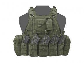Nosič plátů WARRIOR ASSAULT SYSTEMS Ricas Compact AK Plate Carrier - Olive Drab