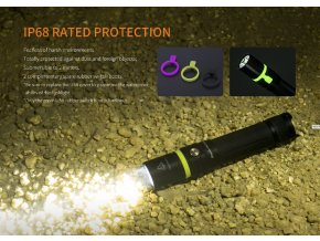 Nabíjecí LED svítilna FENIX UC30