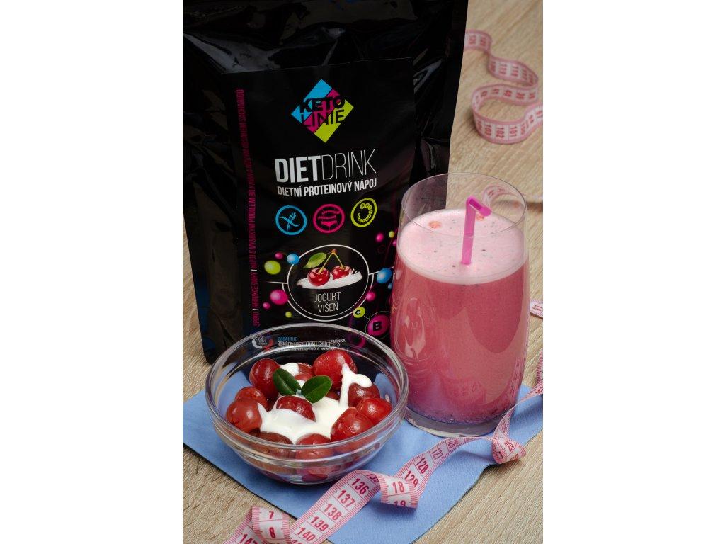 158 proteinovy napoj jogurt visen 360 g 12 porci