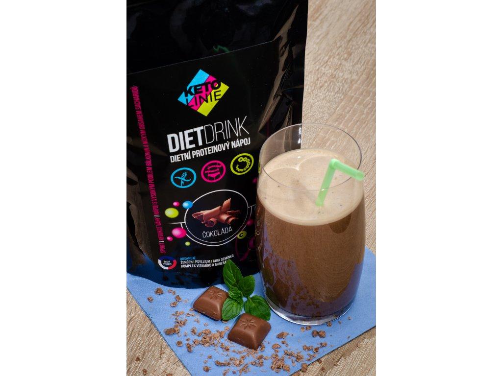 173 proteinovy napoj s prichuti cokolady 360 g 12 porci