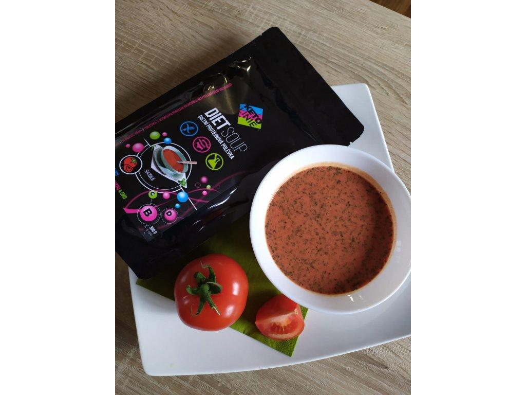 proteinová polévka rajská ( 12 porcí )