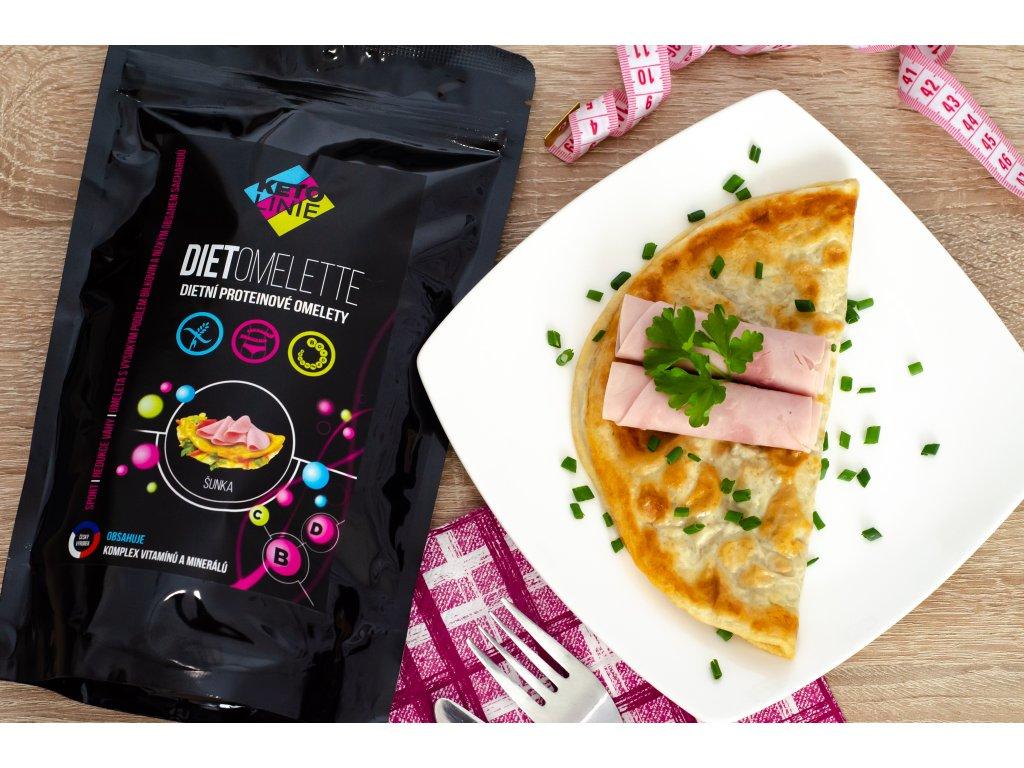 86 proteinova omeleta se sunkovou prichuti 12 porci